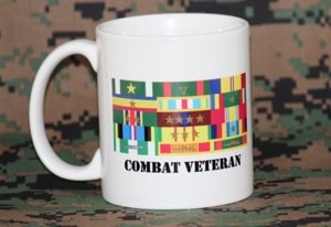 custom military ribbon rack mug