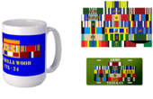 Custom military Ribbon Gift Store