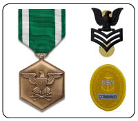 Navy Military Medals and military ribbons products and gifts