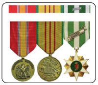 Military Ribbon and Military Medal Rack Builder