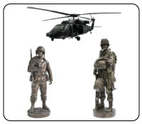 military statues, military models, military collectibles