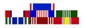 United States Army Military Ribbons in order of Precedence Charts