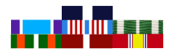 United States Coast Guard Military Ribbons in Order of Precedence Charts