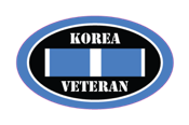 korean war veteran military sticker decals