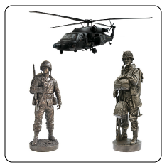 Military Models, Military Statues and Military Collectible gifts
