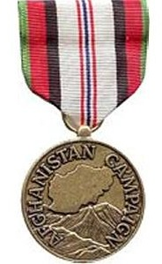 Afghanistan Campaign Full Size Military Medal