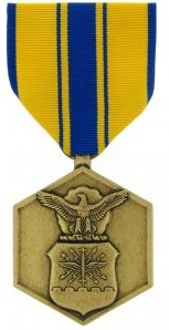 Air Force Commendation Full Size Military Medal