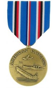 American Campaign Full Size Military Medal