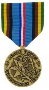 Armed Forces Expeditionary Full Size Military Medal