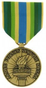 Armed Forces Services Full size military medal