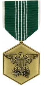 Army Commendation Full Size Military Medal
