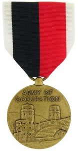Army of Occupation Full Size Military medalry