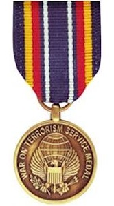Global War on Terrorism Servie Medal