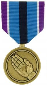 Humanitarian Service full size military medal