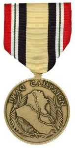 Iraq Campaign Full size Military Medal