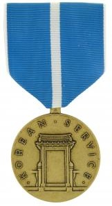 Korean Service Full Size Military Medal