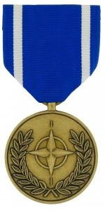 Nato Full Size Military Medal