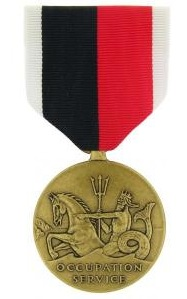 Navy Occupation Service Full Size Military medal
