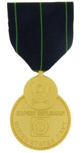 Navy Rifle Expert Medal