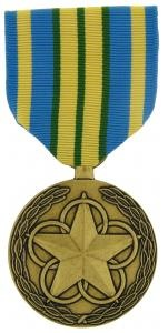 Outstanding Volunteer Full Size military medal