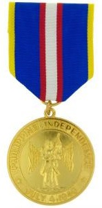 Philippine Independence Full Size Military Medal