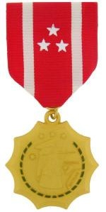 Philippine Defense Full size military medal