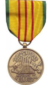 Vietnam Service Full Size Military Medal