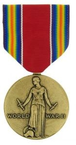 World War II Victory Full Size Military Medal