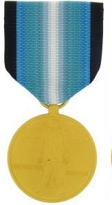 Antarctica Service full size military medal