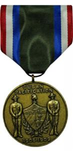 army of cuban pacification medal