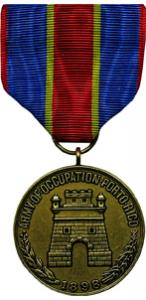 army of puerto rican occupation military medal