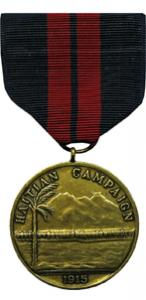 first haitian campaign marine corps medal