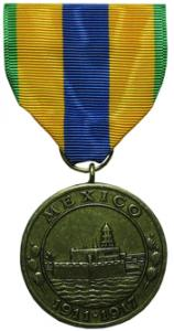 mexican service navy military medal