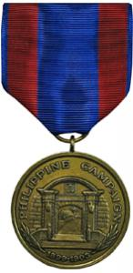 philippine campaign marine corps medal