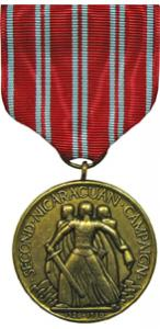 second nicaraguan campaign marine corps medal