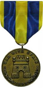 spanish campaign army military medal
