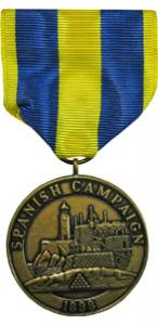 spanish campaign marine corps medal
