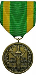 spanish war service military medal