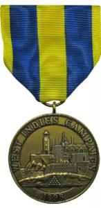 west indies campaign navy military medal