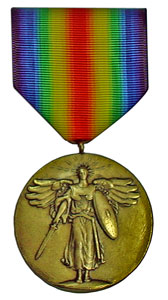 world war I victory military medal