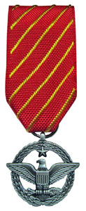 combat action mini military medal