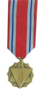 Air Force Combat Readiness Miniature Military Medal