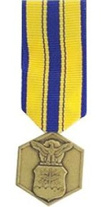 Air Force Commendation Miniature Military Medal