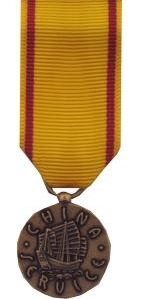 China Service Medal Navy