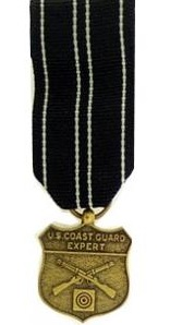 Coast Guard Expert Rifle Marksmanship Medal