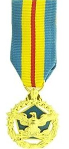 Defense Distinguished Service Miniature Military medal