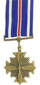 Distinguished Flying Cross miniature military medal