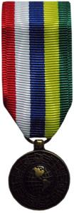 inter american defense mini medal
