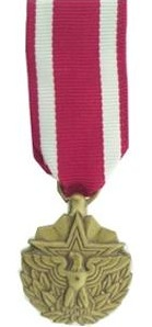 meritorious service miniature military medal