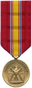 national defense miltiary medal